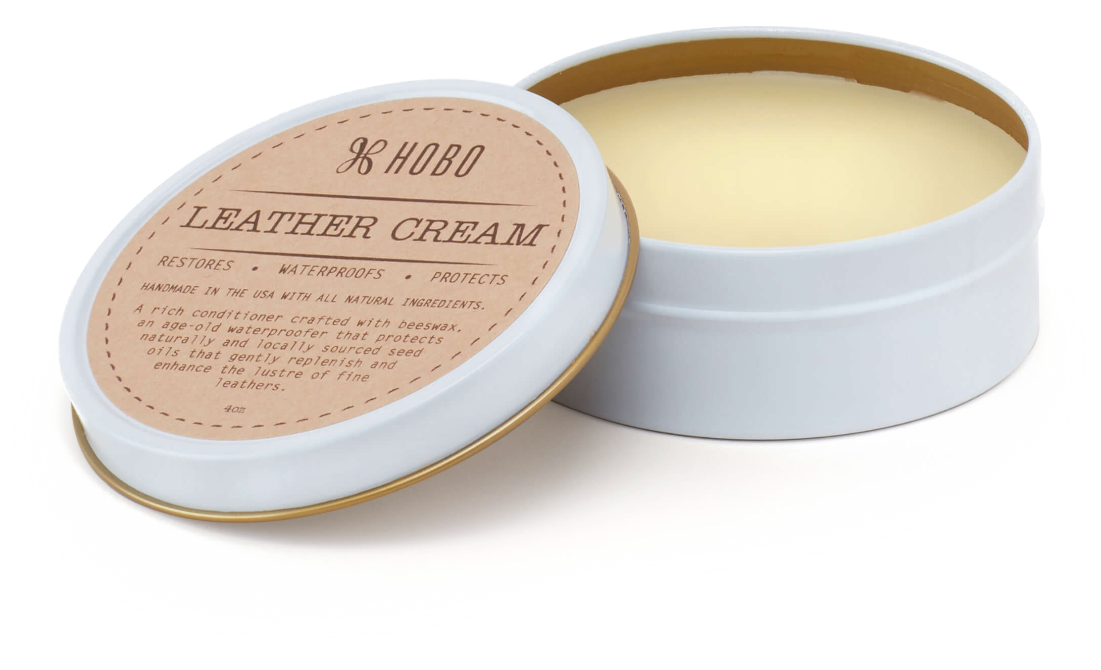 Leather Cream perfect for Vintage Hide Leather Goods