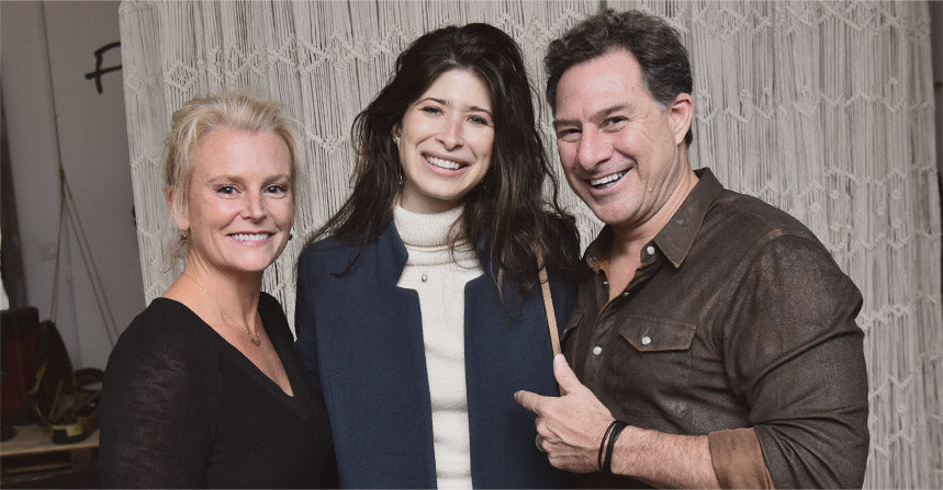 New York Jewlery Designer Pamela Love with Hobo co-owners David Brewer and Koren Ray