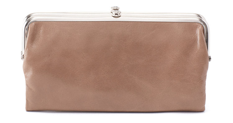 Lauren, the original leather clutch-wallet that started it all