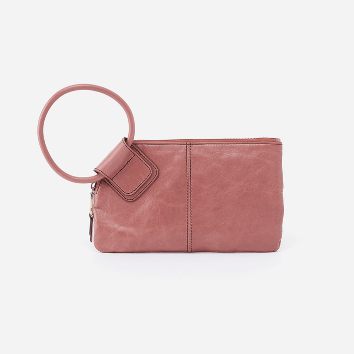 Burnished Rose Sable Wristlet  Hobo