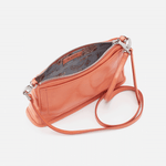 Dusty Coral Cadence Crossbody Hobo