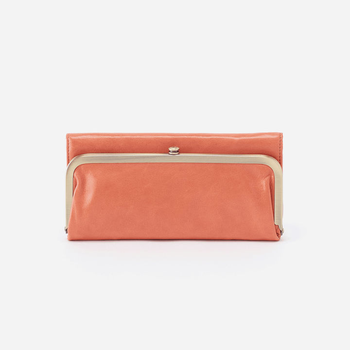 Dusty Coral Rachel Continental Wallet  Hobo