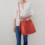 Lava Sheila Large Satchel Hobo