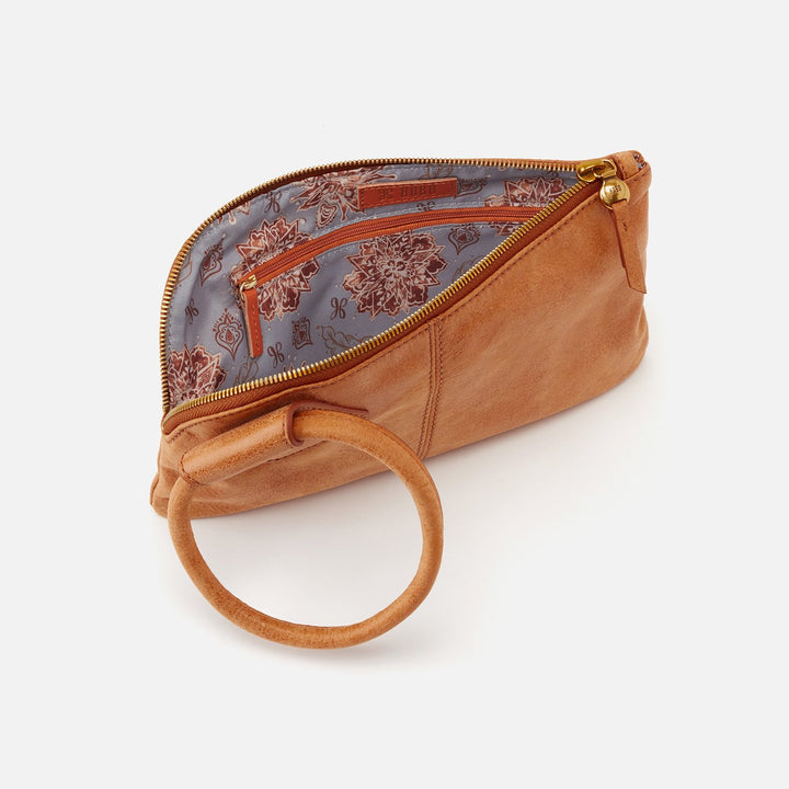 Whiskey Sable Wristlet  Hobo