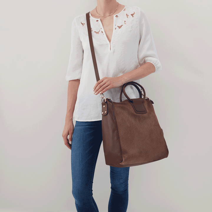 Mink Sheila Large Satchel  Hobo