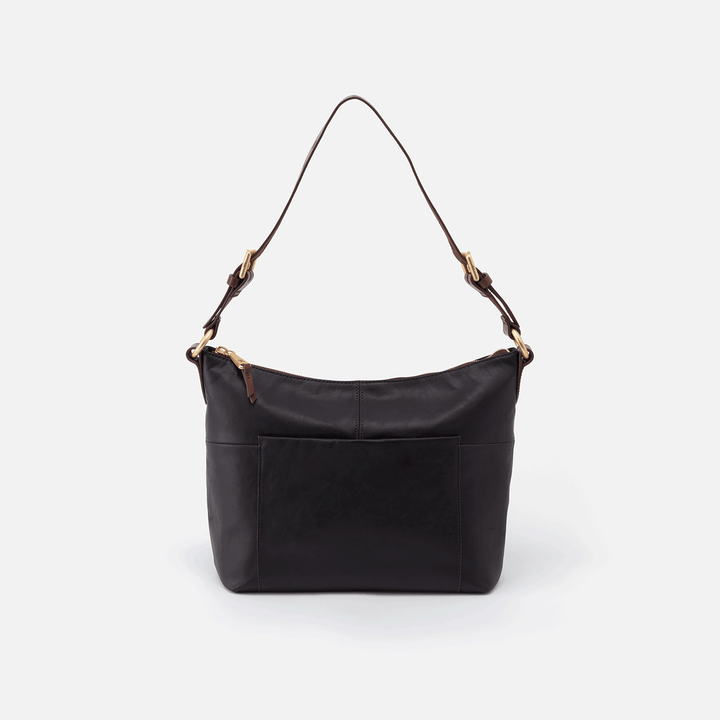 Black Charlie Shoulder Bag  Hobo