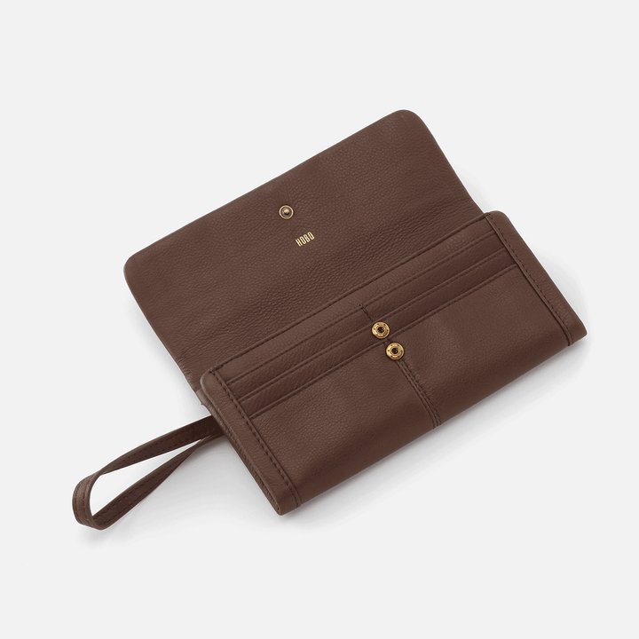Acorn Wonder Wallet  Hobo  Velvet Pebbled Leather
