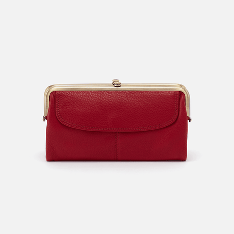 Scarlet Lauren Clutch Wallet  Hobo  Velvet Pebbled Leather