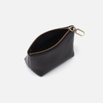 Black Brava GO Clip Pouch Hobo  Velvet Pebbled Leather