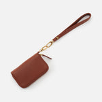 Toffee Grip GO Wristlet Strap Hobo  Velvet Pebbled Leather