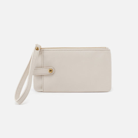 Powder White  Hobo Smartphone Wristlet