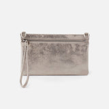Distressed Platinum Day GO Wristlet  Hobo