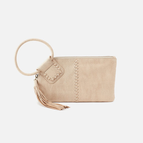 Buffed Gold  Hobo Wristlet