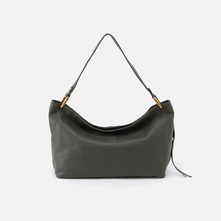 Sage brush Ventura Shoulder Bag  Hobo  Velvet Pebbled Leather