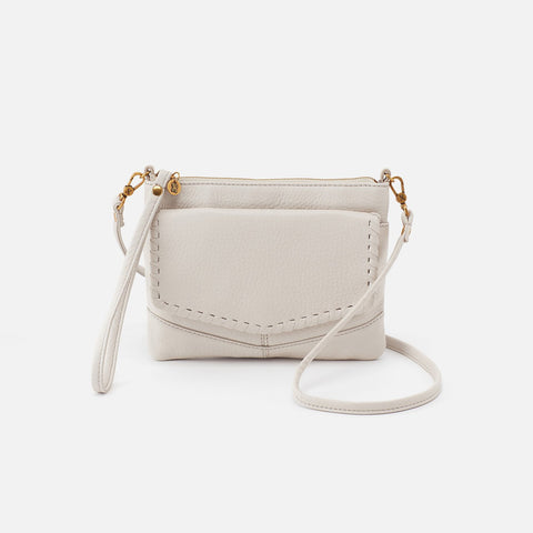 Powder White  Hobo Crossbody