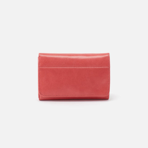 Tea Rose  Hobo Trifold Wallet