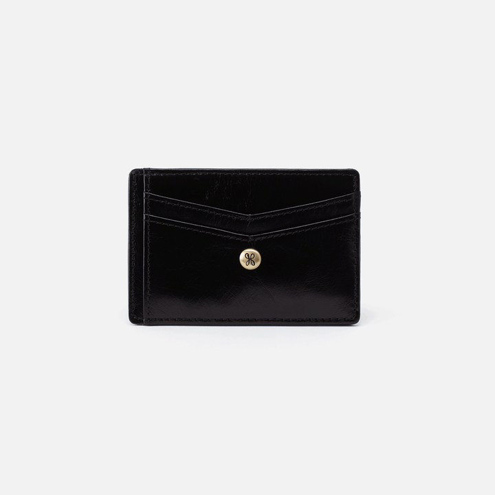 Black Simi Credit Card Wallet  Hobo