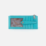 Aqua Linn Card Case  Hobo