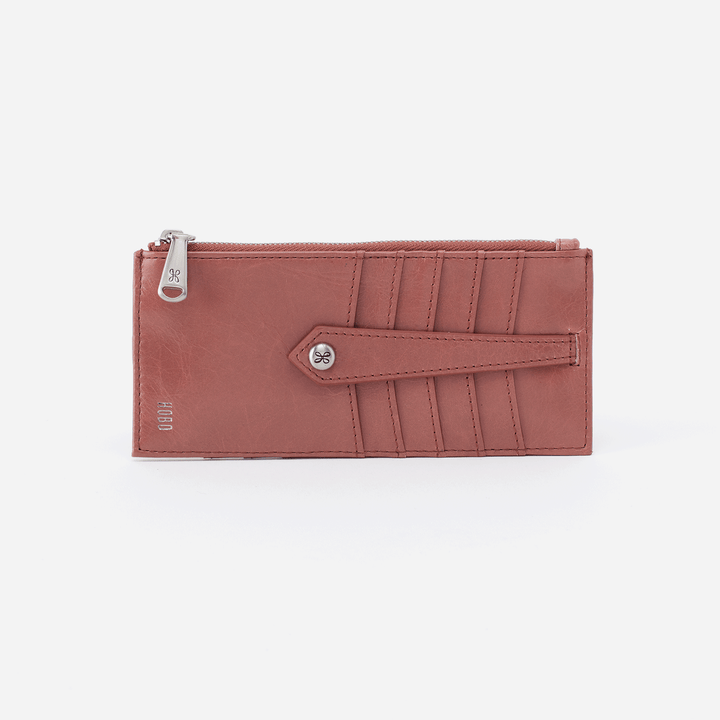 Burnished Rose Linn Card Case  Hobo