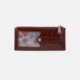 Chocolate Linn Card Case  Hobo