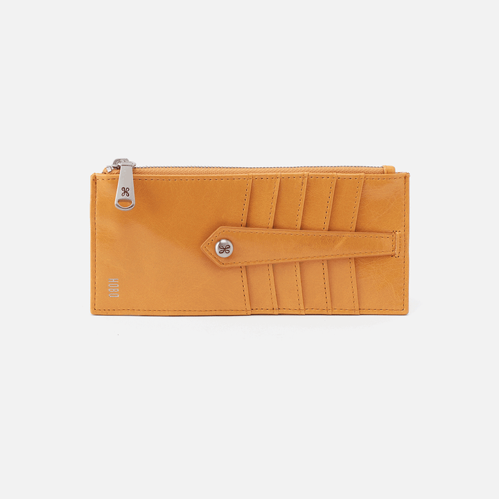Mustard Linn Card Case  Hobo