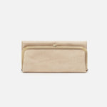 Buffed Gold Rachel Continental Wallet Hobo