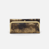 Heavy Metal Gold Rachel Continental Wallet  Hobo