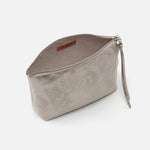 Distressed Platinum Collect Large Travel Pouch Hobo