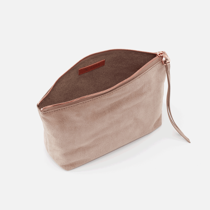 Rose Dust Collect Large Travel Pouch  Hobo