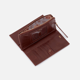 Chocolate Gracie Wallet  Hobo