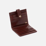 Chocolate Tad Credit Card Wallet  Hobo