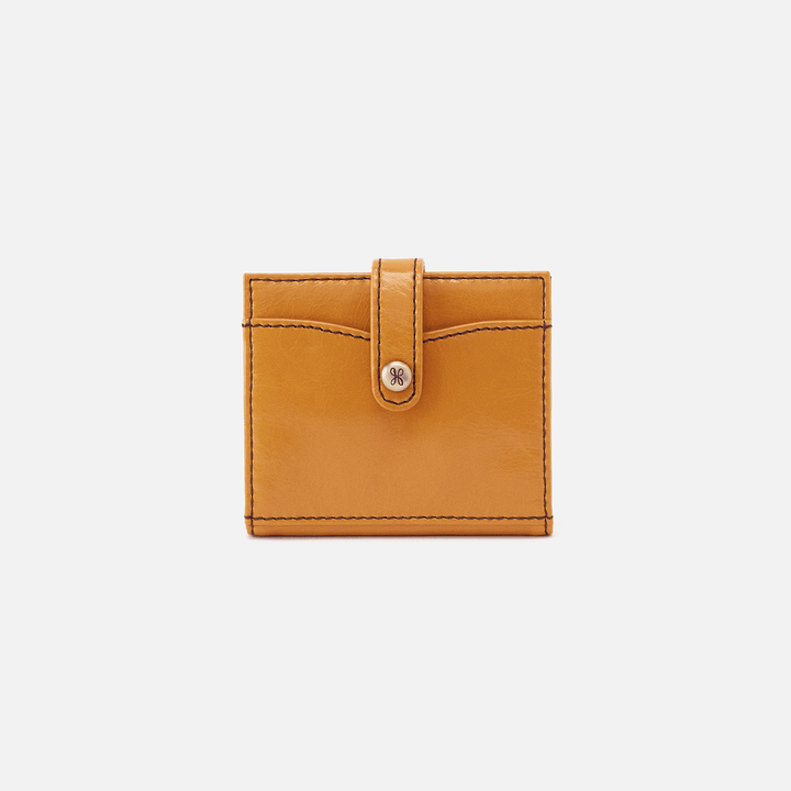 Mustard Tad Credit Card Wallet  Hobo