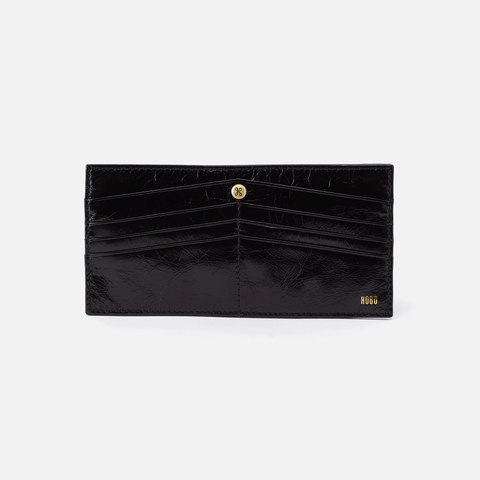 Black Peak Wallet  Hobo