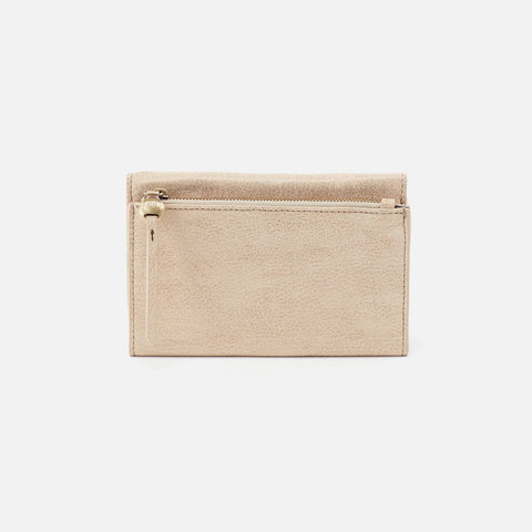 Buffed Gold  Hobo Trifold Wallet