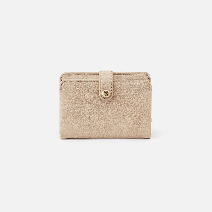 Buffed Gold Gem Card Case  Hobo