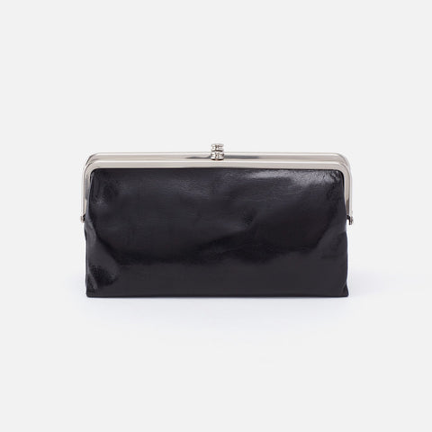 Black  Hobo Clutch Wallet