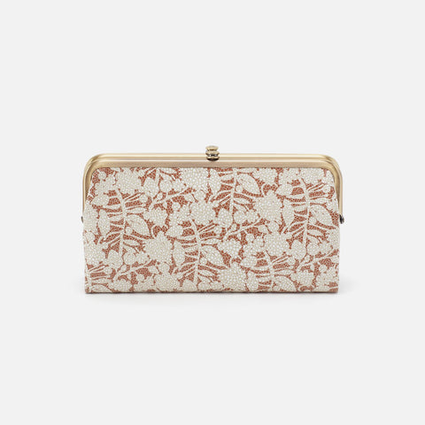 Botanical Beauty  Hobo Clutch Wallet