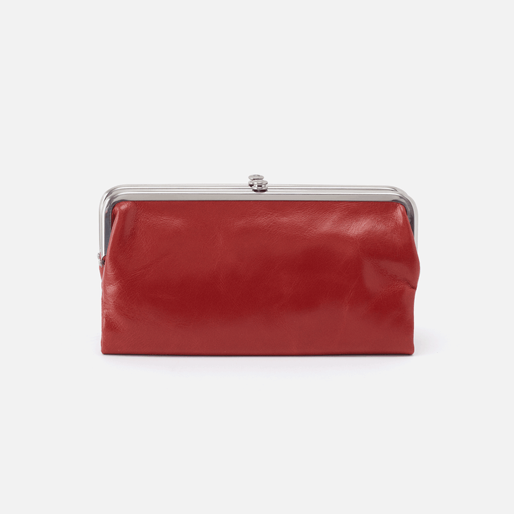 Brick Lauren Clutch Wallet  Hobo