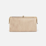 Buffed Gold Lauren Clutch Wallet Hobo
