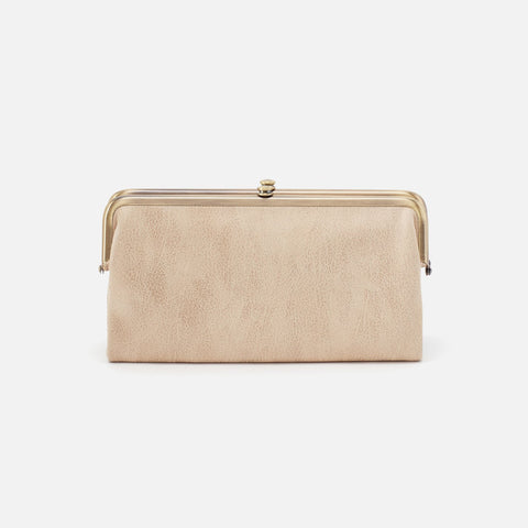 Buffed Gold  Hobo Clutch Wallet