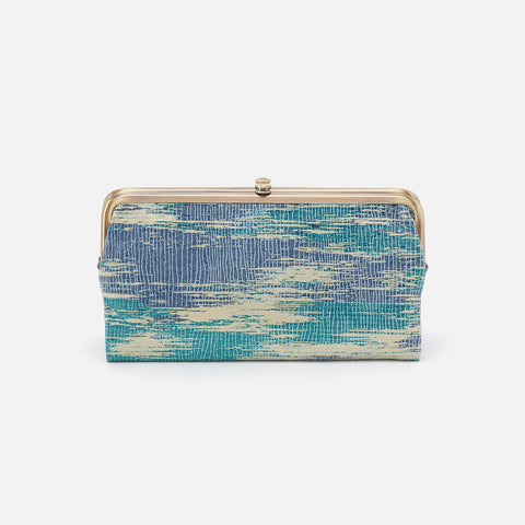 Cracked Glass  Hobo Clutch Wallet