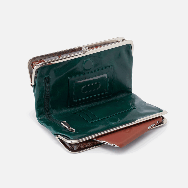Emerald Lauren Clutch Wallet  Hobo