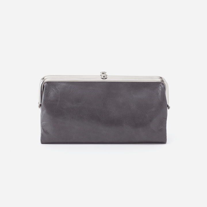 Graphite Lauren Clutch Wallet  Hobo