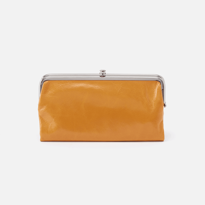 Mustard Lauren Clutch Wallet  Hobo