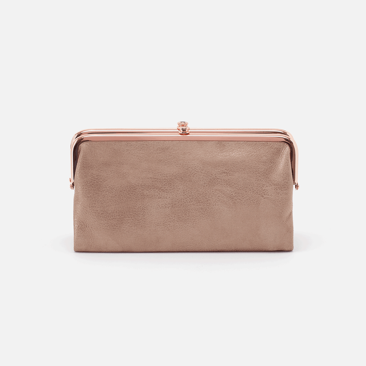 Rose Dust Lauren Clutch Wallet  Hobo
