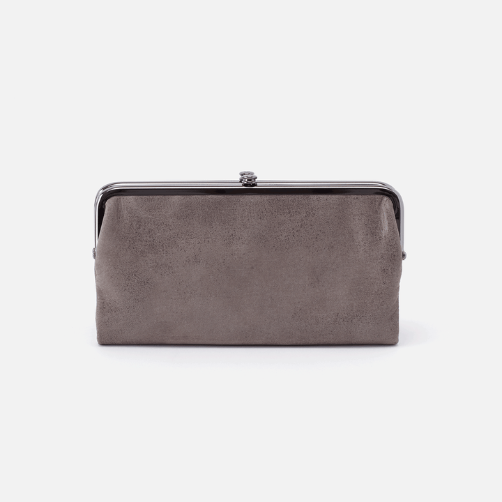 Titanium Lauren Clutch Wallet  Hobo