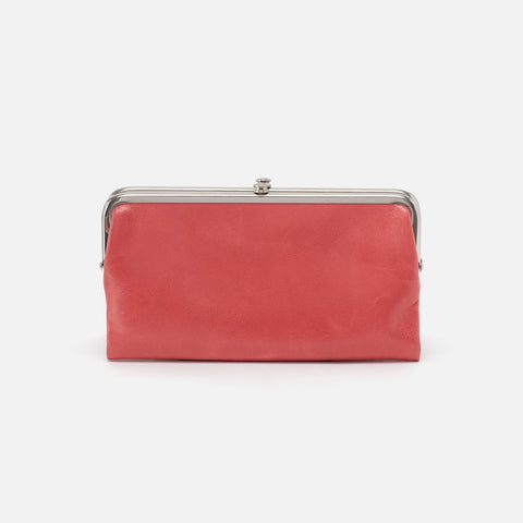Tea Rose  Hobo Clutch Wallet
