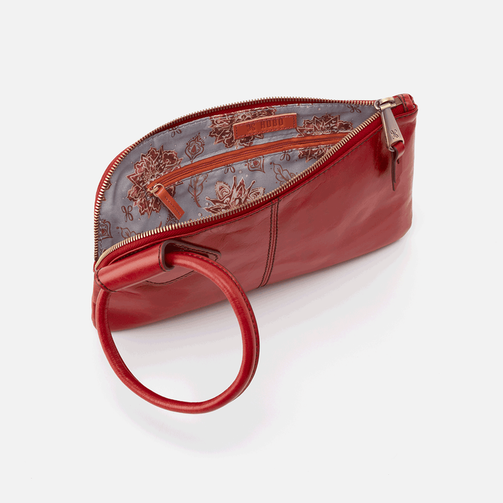 Brick Sable Wristlet  Hobo