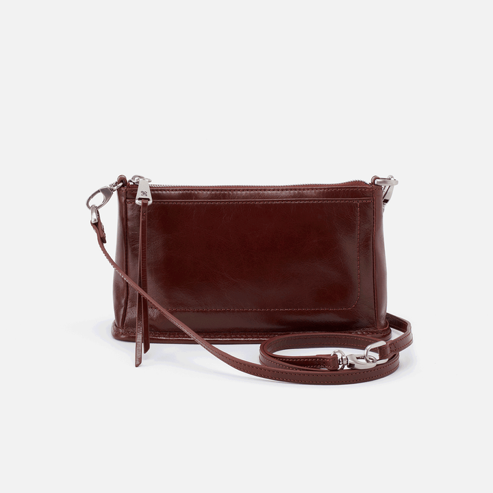 Chocolate Cadence Crossbody  Hobo
