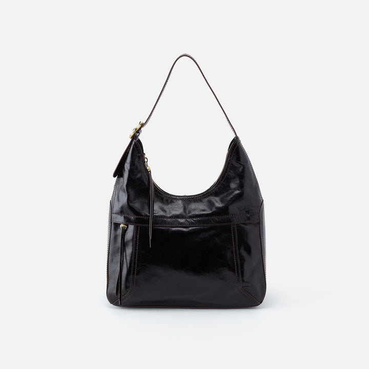 Black Fortune Shoulder Bag  Hobo